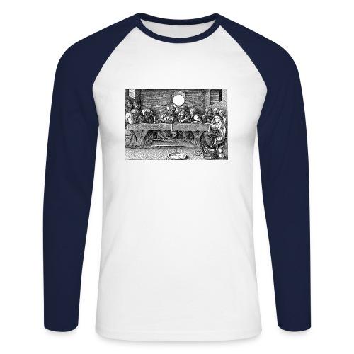 The Last Supper - Men's Long Sleeve Baseball T-Shirt