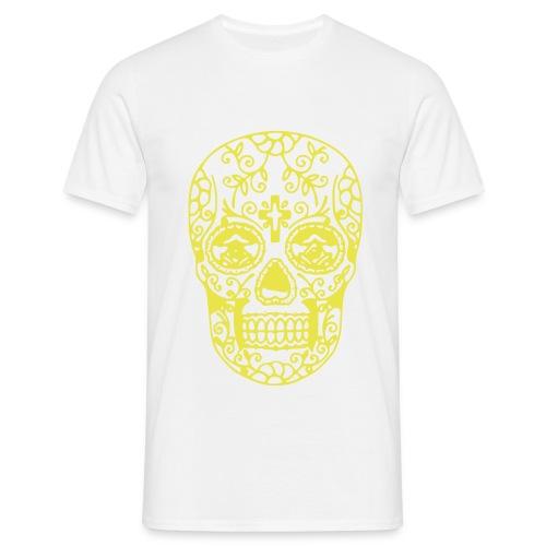 Teschio messicano - Maglietta da uomo