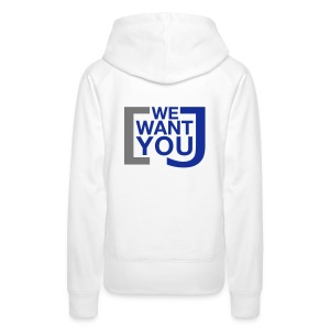 We want you - Frauen Premium Hoodie