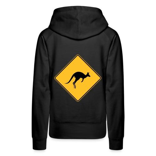 Panneau Kangourou - Sweat-shirt à capuche Premium pour femmes