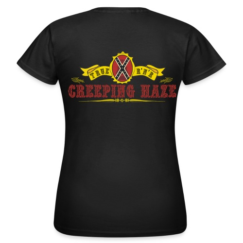 Band Girlyshirt Back - Frauen T-Shirt
