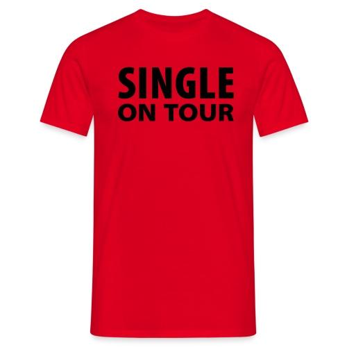 Basis, single on tour - T-skjorte for menn