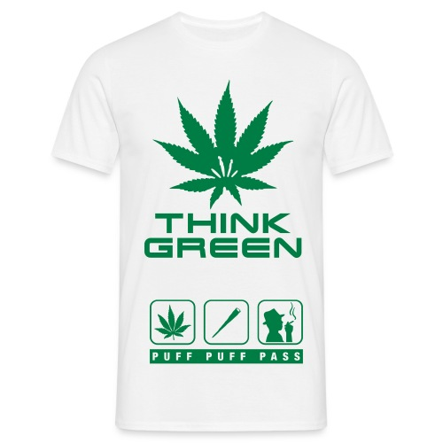 Think green - T-shirt Homme