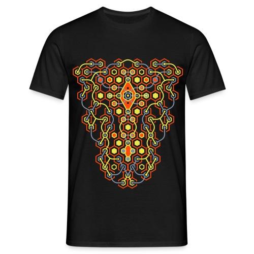 Cybertron UV Active 2-side - Classic Men - Men's T-Shirt
