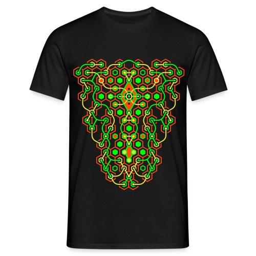 Cybertron UV Active Front - Classic Men - Men's T-Shirt