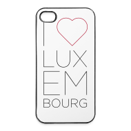 Phone & Tablet Cases ~ iPhone 4/4s Hard Case ~ I Love Luxembourg - iPhone 4/4S cover