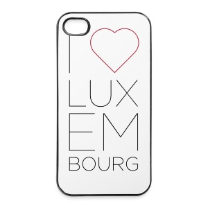 I Love Luxembourg - iPhone 4/4S cover - iPhone 4/4s Hard Case