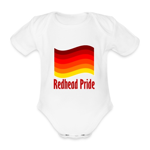 Baby Grow Redhead Pride - Organic Short-sleeved Baby Bodysuit