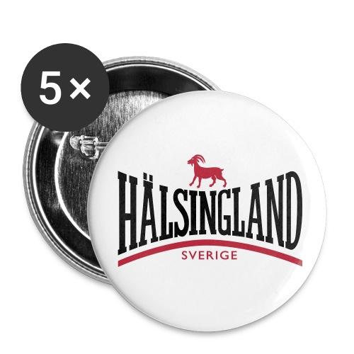 Stora knappar 56 mm (5-pack) - hälsingebock,Hälsingland,Bock