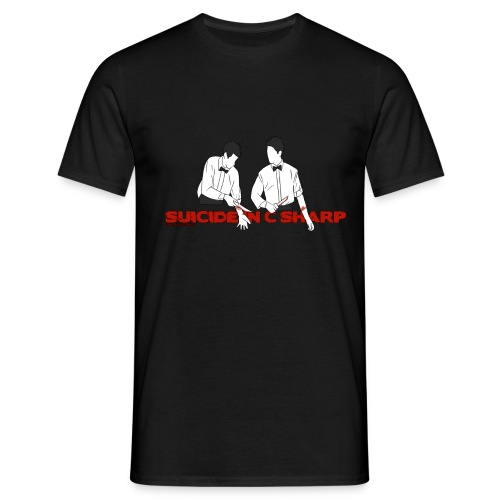 Suicide in C Sharp - Men's T-Shirt