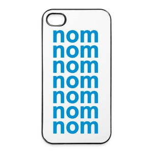 nomnomnom - iPhone 4/4s Hard Case