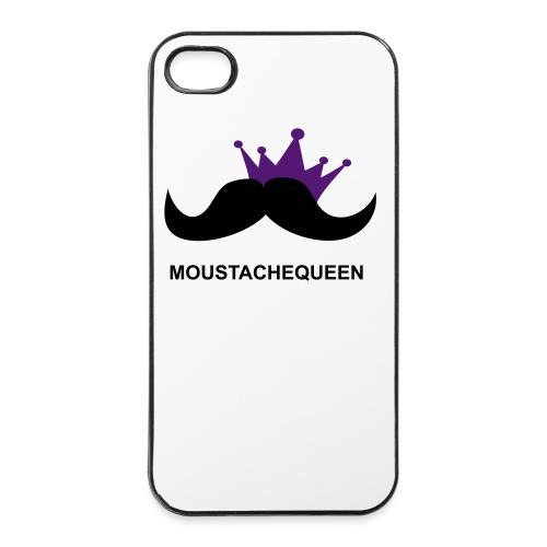 Moustachequeen - iPhone 4/4s Hard Case
