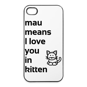 mau means - iPhone 4/4s Hard Case