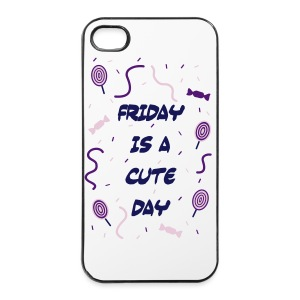 Friday is a cute Day - iPhone 4/4s Hard Case