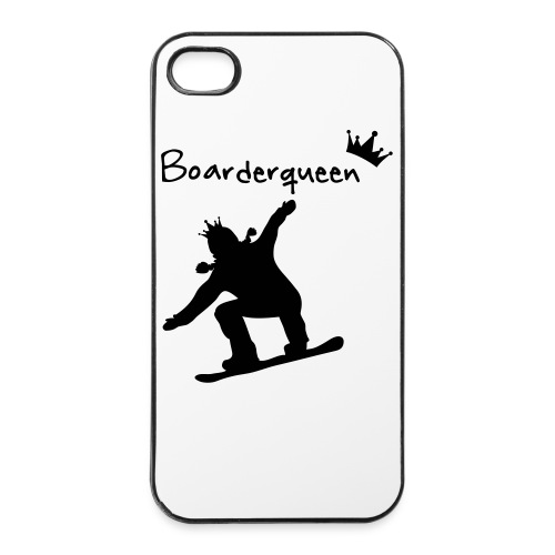 Boarderqueen - iPhone 4/4s Hard Case