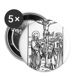 Durer Crucifixion - Buttons small 25 mm