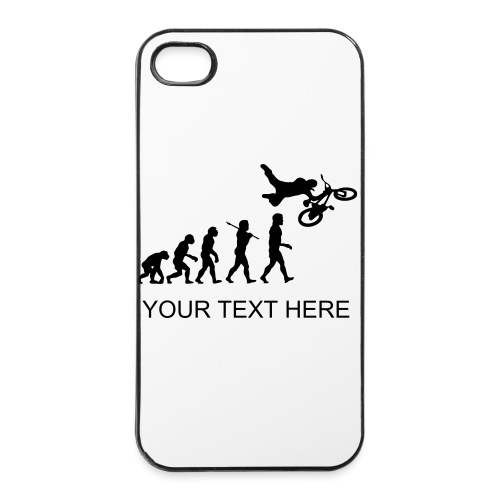 Iphone case bmx evolution  - iPhone 4/4s Hard Case