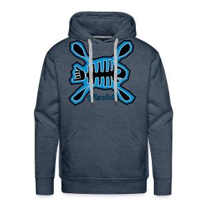 Poisson shaka - Sweat-shirt à capuche Premium pour hommes