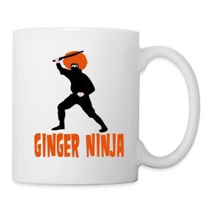Ginger Ninja Mug - Mug