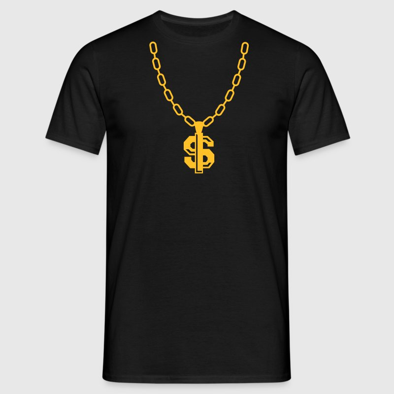 Dollar collier - Dollar Necklace Tee shirts - T-shirt Homme