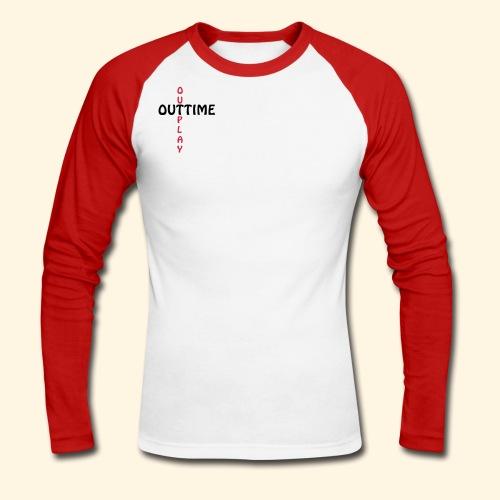 Männer Baseballshirt - Outtime - Männer Baseballshirt langarm