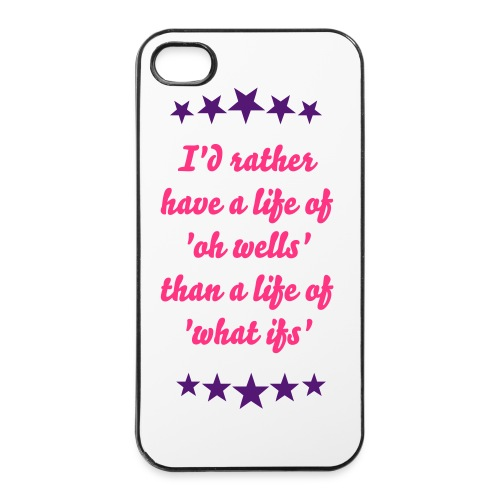 'oh well' - iPhone 4/4s Hard Case