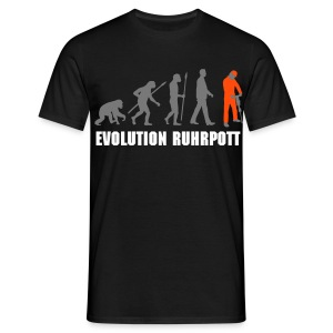 T-Shirt: Evolution Ruhrpott - Männer T-Shirt