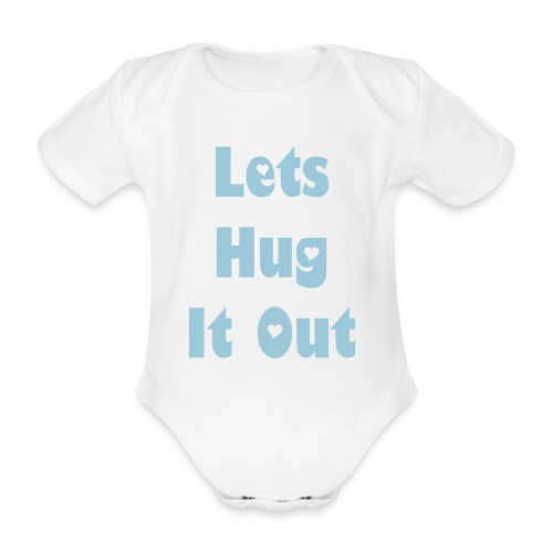 Hug - Organic Short-sleeved Baby Bodysuit