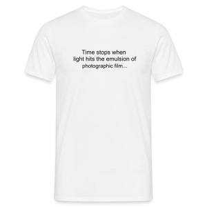 Photo time - Camiseta hombre