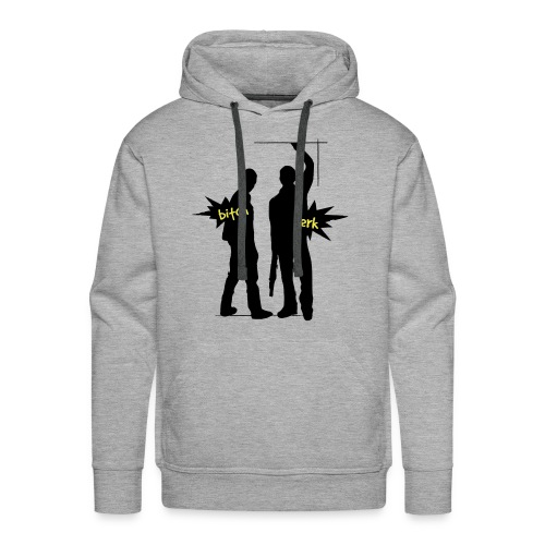 Supernatural Bitch & Jerk - Männer Premium Hoodie