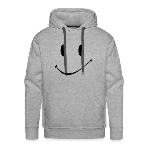 Smiley Face Kaputzenpullover - Männer Premium Hoodie