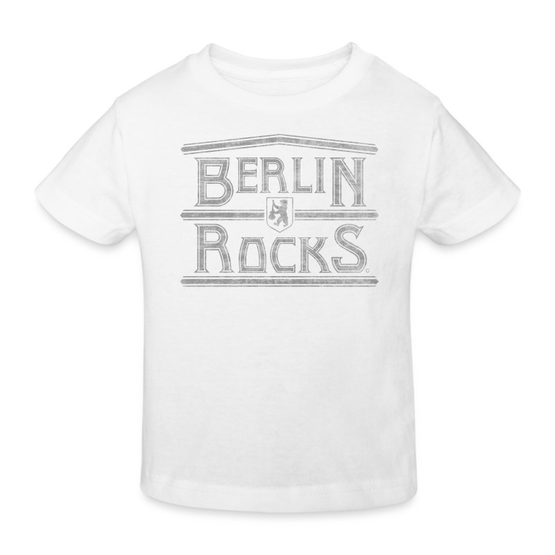 Berlin Rocks Kinder Bio Shirt - Kinder Bio-T-Shirt