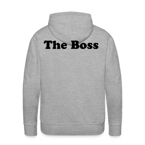 the Boss - Sweat-shirt à capuche Premium pour hommes
