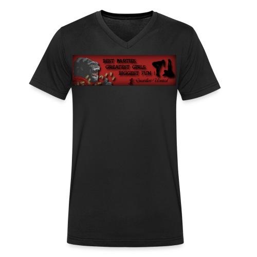 Guerillos United the most awesome V-Neck Shirt - Männer Bio-T-Shirt mit V-Ausschnitt von Stanley & Stella