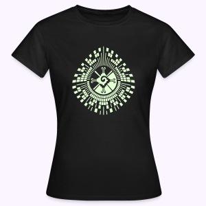 Hunab-Ku-DNA-Tree  Glow-in-the-Dark - Vrouwen T-shirt