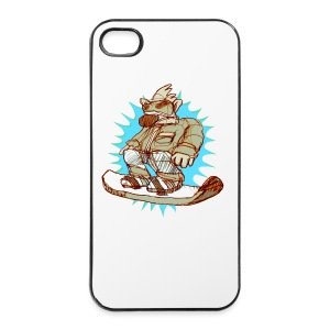 SNOWBOARD -back - iPhone 4/4s Hard Case