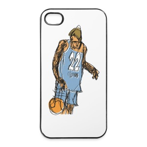 BASKETBALL -back - iPhone 4/4s Hard Case