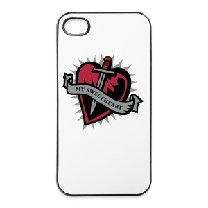 SWEETHEART -back - iPhone 4/4s Hard Case