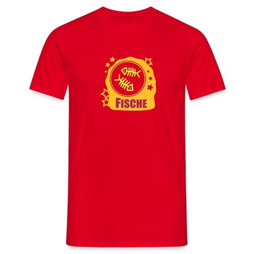 Sternzeichen Fische - Männer T-Shirt