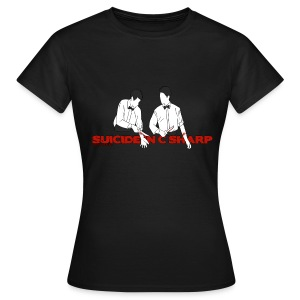 Suicide in C Sharp: Girl's Fitted Tee - Women's T-Shirt