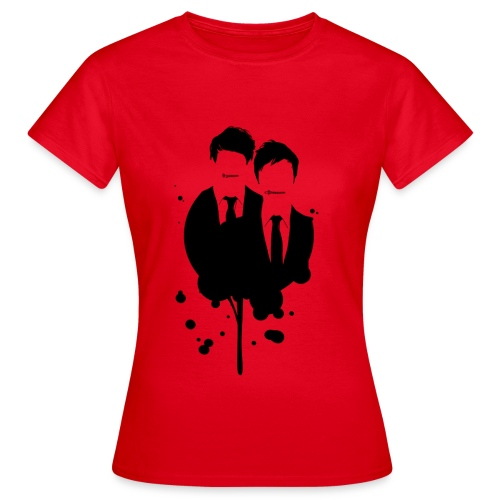 B&S Ink Guys: Girl's Fitted Tee - Women's T-Shirt