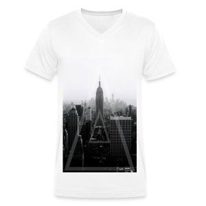 New York Criminal - Men's Organic V-Neck T-Shirt by Stanley & Stella