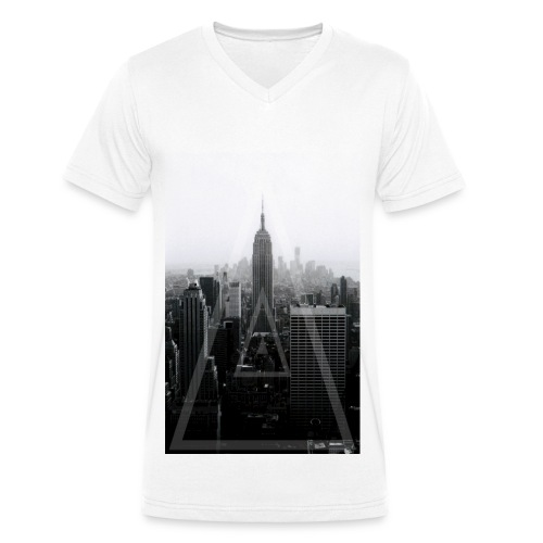 New York Criminal - Men's Organic V-Neck T-Shirt by Stanley & Stella