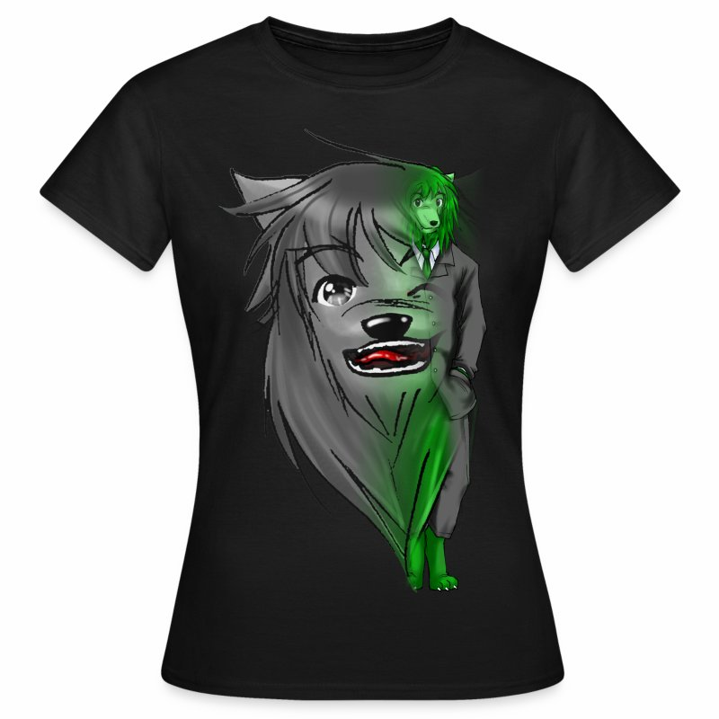 Wolfy Coolface Damen Shirt - Frauen T-Shirt