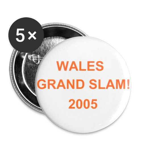 Wales Grand Slam badges - Buttons small 25 mm