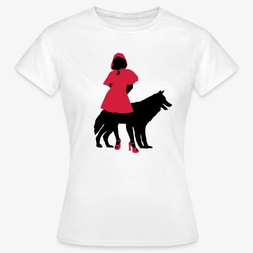 Red riding hood - T-shirt Femme