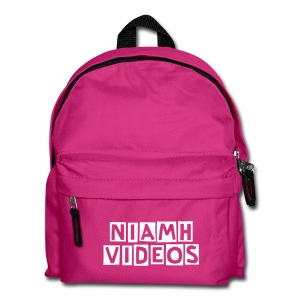 Niamh Videos Backpack (Customisable text) - Kids' Backpack