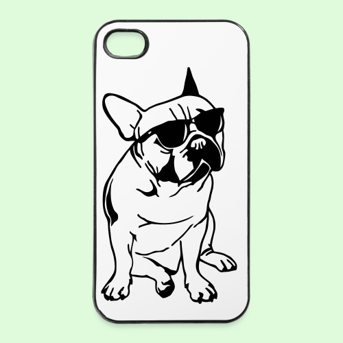Bouledogue au soleil - Coque rigide iPhone 4/4s