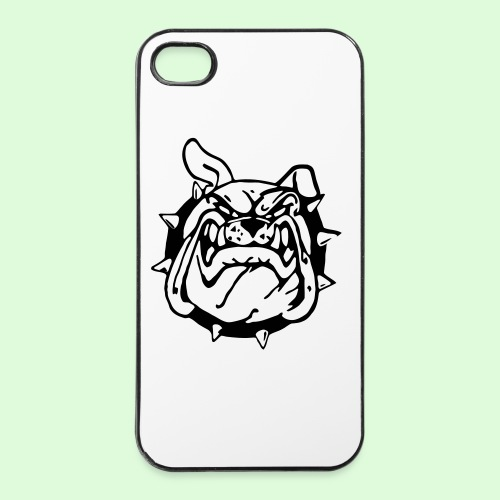 Le sourire du Bulldog - Coque rigide iPhone 4/4s