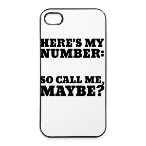 Call Me Maybe IPHONE case BLACK - iPhone 4/4s Hard Case